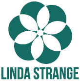 Linda Strange web design contact logo